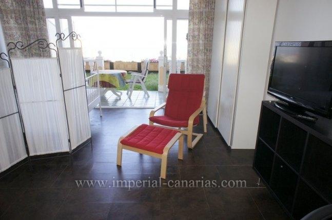 Studio in La Paz  -  Sunny studio for rent with amazing views over the sea