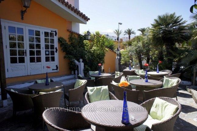 Tolles Restaurant an einer der belebtesten Strassen von Puerto de la Cruz