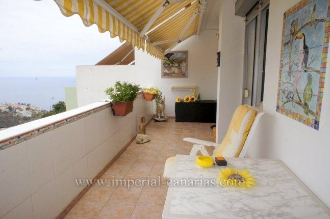 Schönes und sonniges Penthouse im Zentrum von Los Realejos mit herrlicher Aussicht.