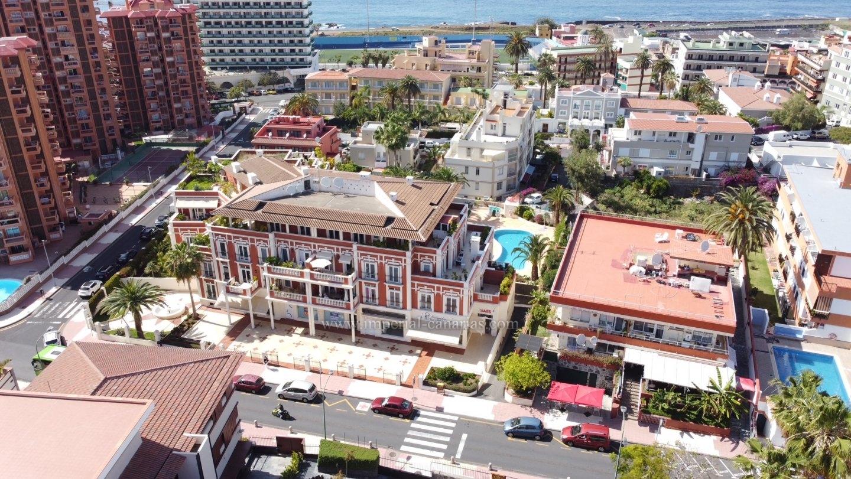 Ätico enorme en edificio de lujo en el centro de Puerto de la Cruz!