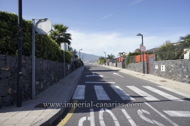 Plot for a detached house on the outskirts of Puerto de la Cruz with beautiful views