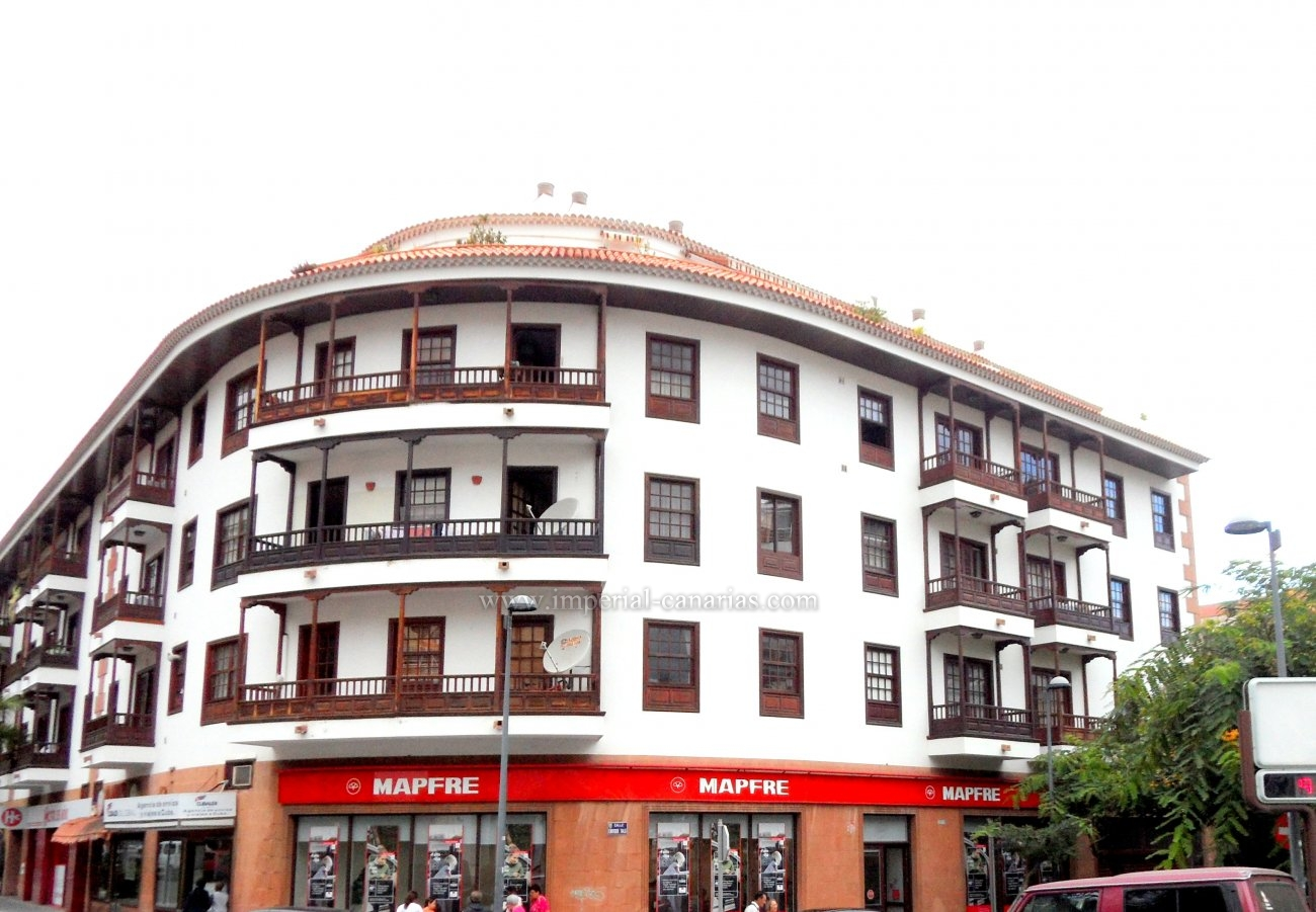 Unique property, in an emblematic building, in the center of Puerto de la Cruz.