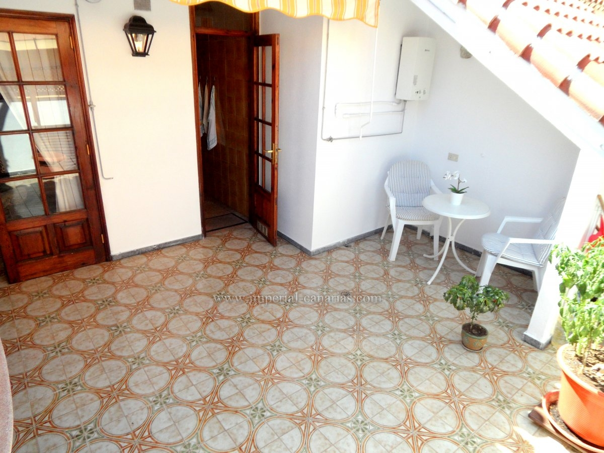 Apartment in the center of Puerto de la Cruz with two wonderful terraces with sun all day.