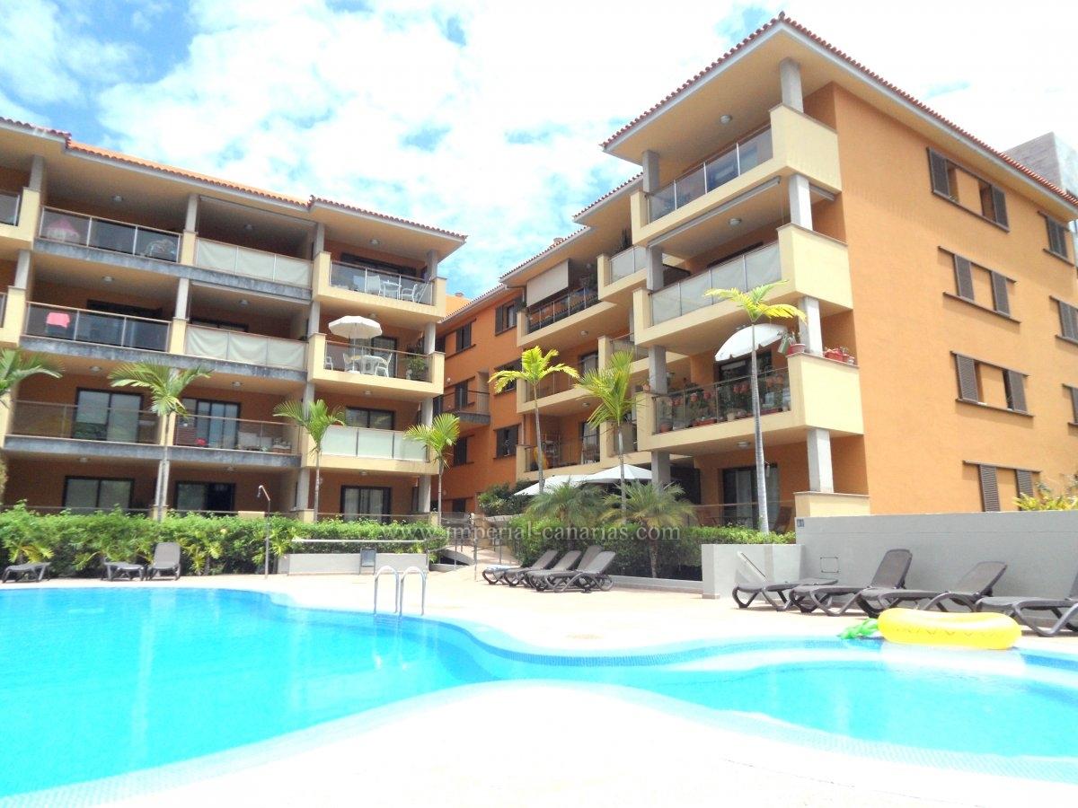 In privileged area of Puerto de la Cruz apartment to rent.