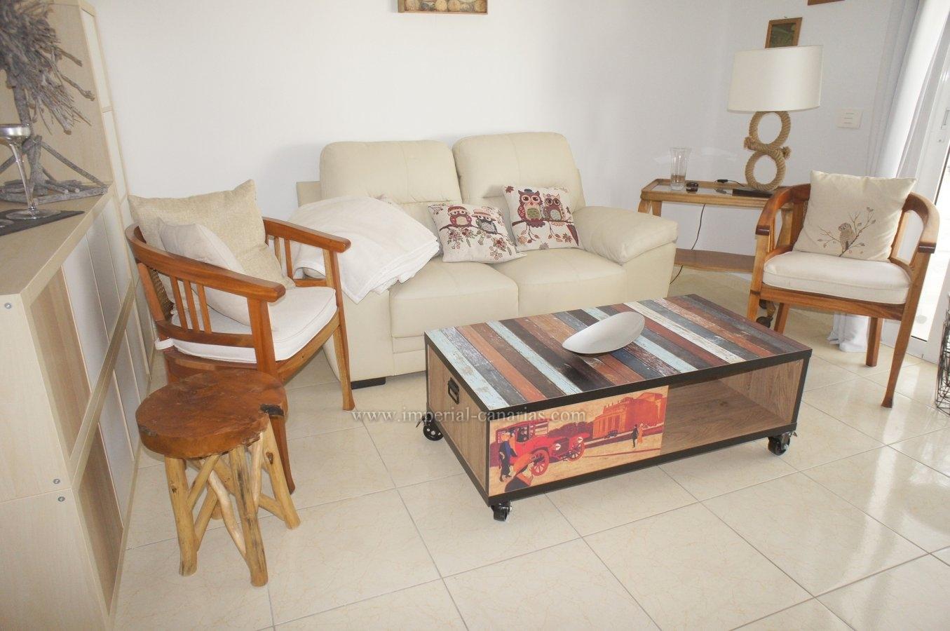 Precioso piso de dos dormitorios con gran terraza y vistas al teide y al jardín tropical