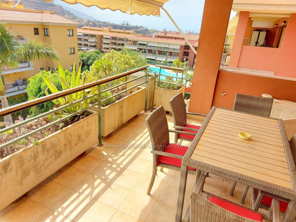 Amplio piso de dos dormitorios con gran Terraza y preciosas vistas