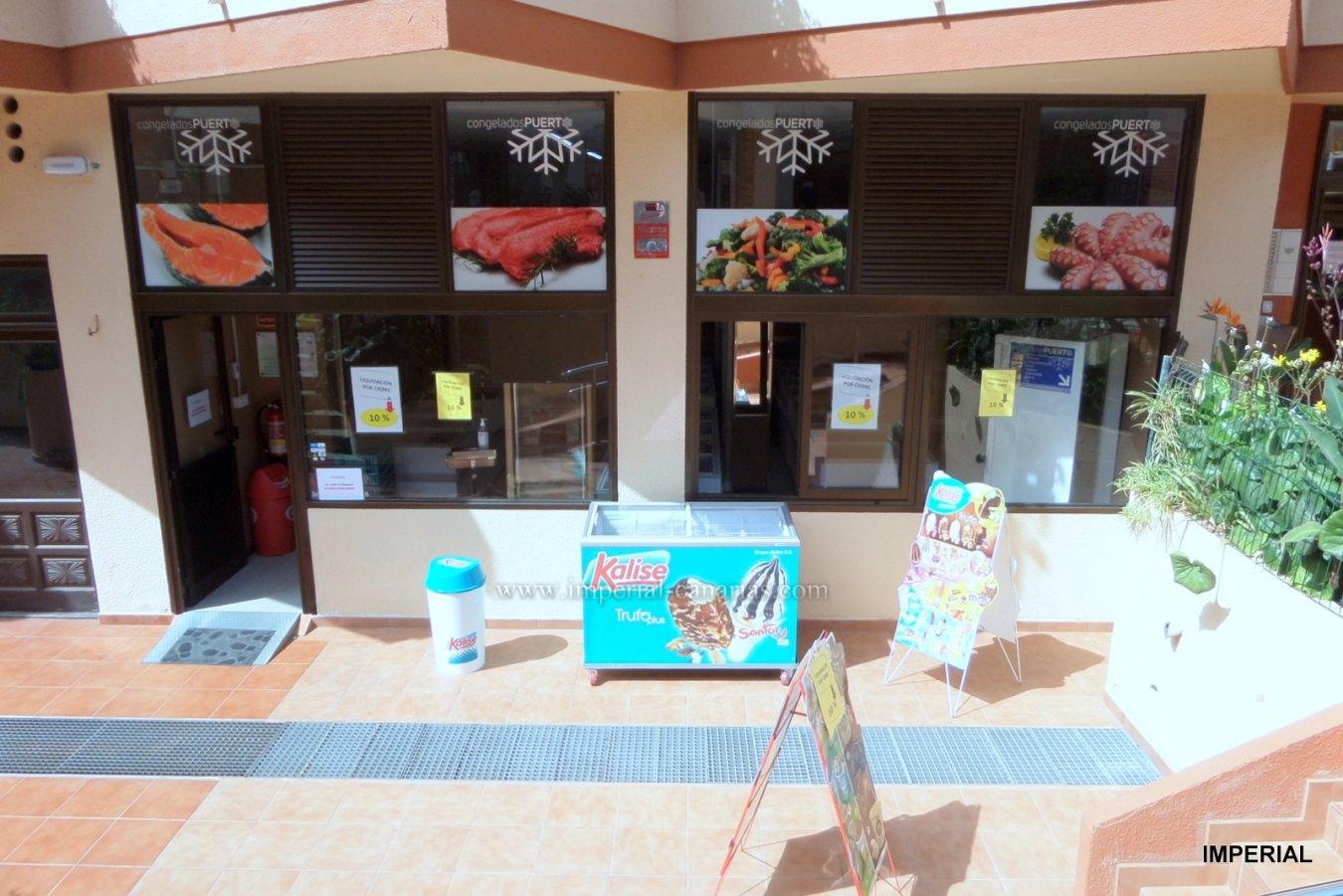 Geschäftsräume für Tiefkühlprodukte zum Verkauf im Herzen von Puerto de la Cruz.