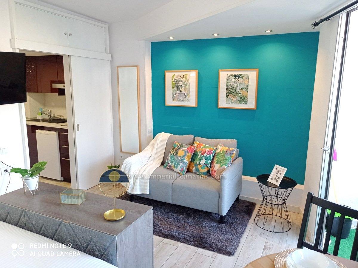 Schönes Studio in der Nähe des Parque Taoro, der Grünfläche von Puerto de la Cruz