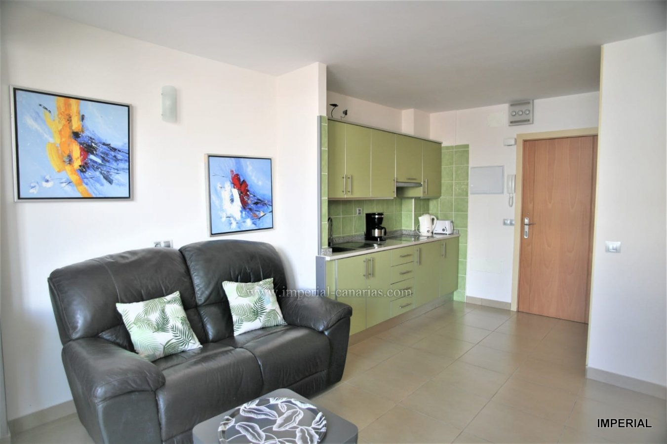 Fully furnished flat in central and pedestrian area of Puerto de la Cruz.