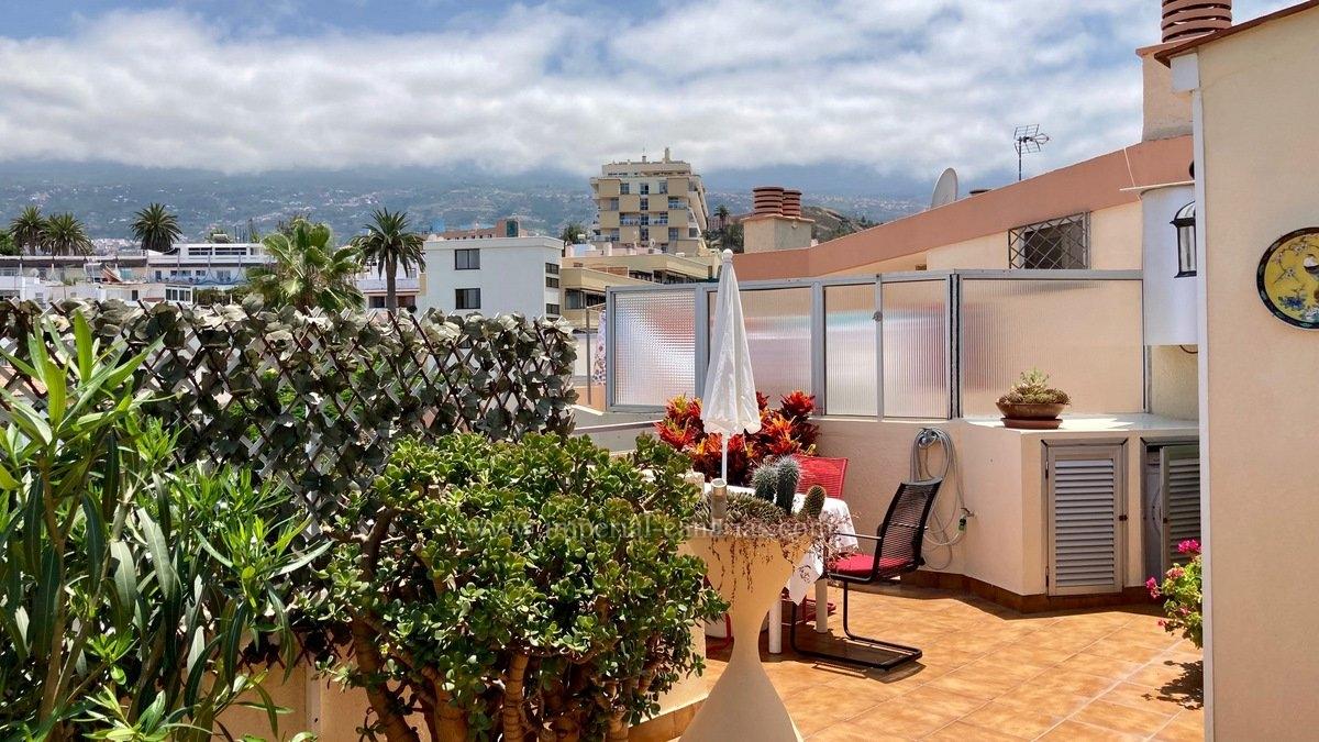 Gemütliches Penthouse mit grosser Terrasse und schöner Aussicht zu verkaufen