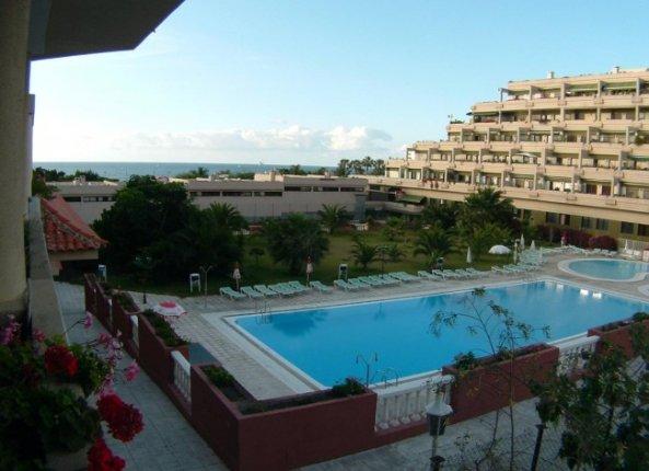 Appartement in Playa Jardin  -  Zu vermieten, exzellentes Appartement, nur 100 Meter zum Strand, beheizter Pool