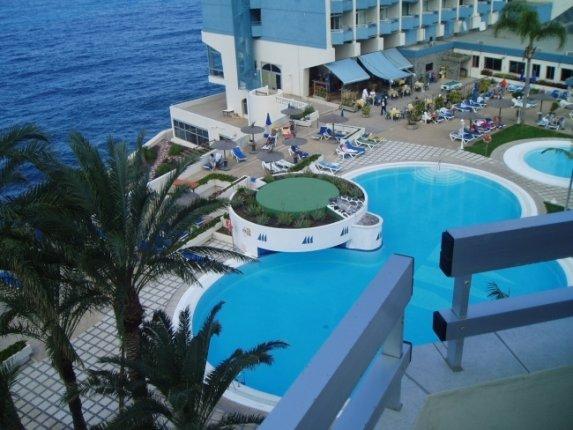 Appartement in Hotel Maritim  -  Unverbesserlicher Meerblick, erste Reihe zum Meer, gepflegte Hotelanlage