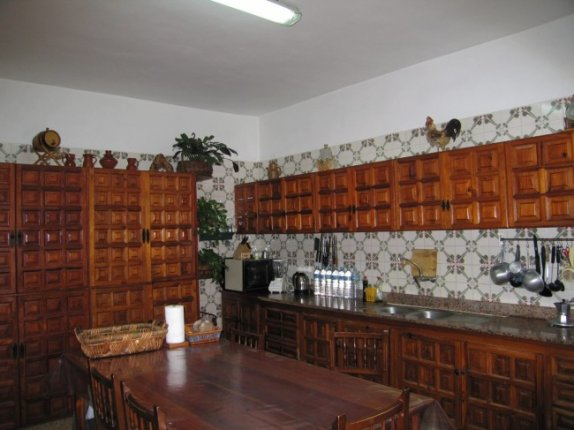 Canary style house in El Mocan  -  Magnificent and huge house with a very big garden and view to the sea