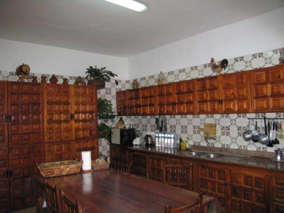 Kanarisches Haus in El Mocan  -  Sch�nes und sehr gro�es Haus mit riesigem Garten und Blick aufs Meer