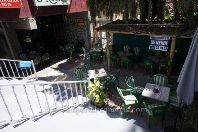 Bar zur Geschäftsübergabe in Stadtmitte von Puerto de la Cruz.