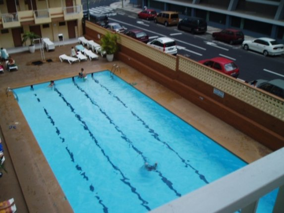 Studio in Puerto de la Cruz  -  Nettes und zentralgelegenes Studio mit Schwimmbecken, gleich neben dem Strand.