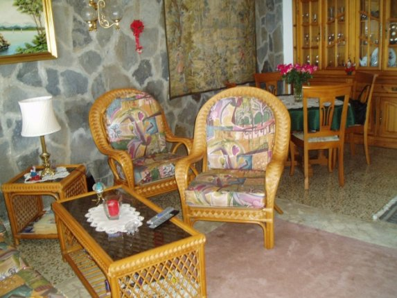 Wohnung in La Matanza  -  Sch�ne Wohnung mit unglaublichem Meer- und Teideblick. Vollst�ndig m�bliert.