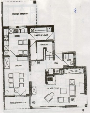 Pareado de reciente construcción en zona previligiada con grandes habitaciones y bonitas vistas.
