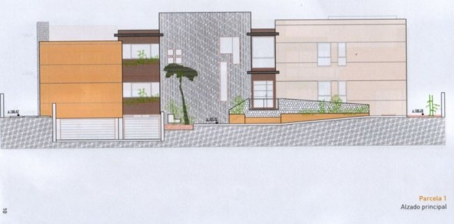 New development in El Sauzal  -  Urban plot in best situation of El Sauzal with project included.