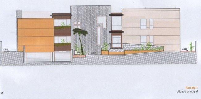 Parcela urbana en urbanización privilegiada del Sauzal con proyecto de casa.