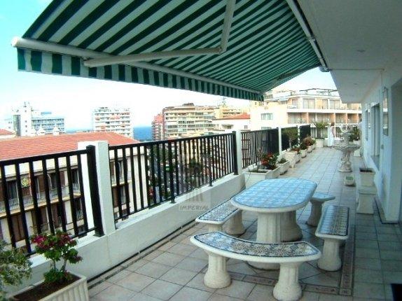 Penthaus in centro  -  Einmalige Penthaus Wohnung in Stadtmitte von Puerto de la Cruz, Terrasse rundum