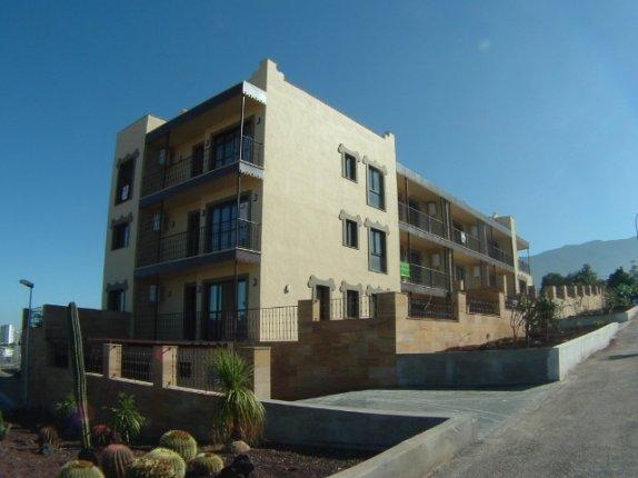 Appartement in Hoya Meleque  -  Neubau Apartment in ruhiger Wohnlage von Puerto mit Balkon, Blick, Einbauküche