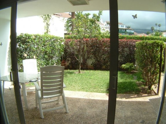 For rental, lovely apartment with tropical gardens and heated pool  click to enlarge the image