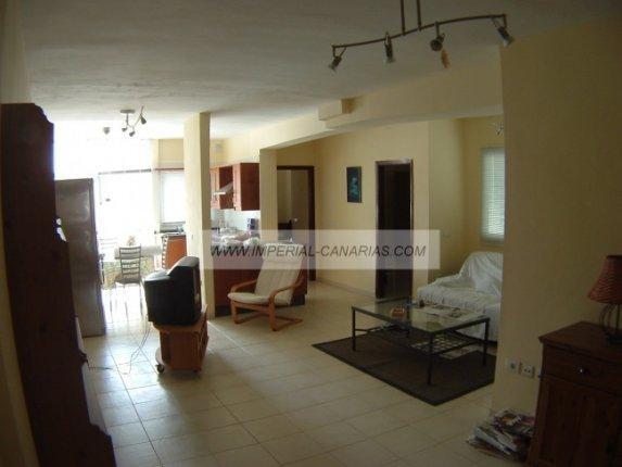 Apartment in centro  -  Flat with 2 bed rooms in central area in Puerto de la Cruz.