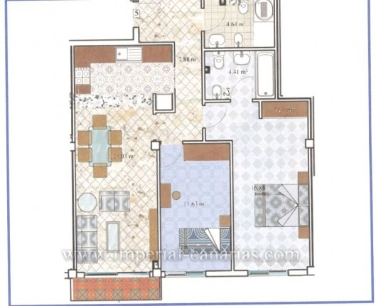 Brand new flats in El Toscal, from 150.000 €