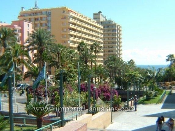 Studio in Strandnähe und mit schöner Aussicht zu vermieten. Hotel mit viel Freizeitangebot.