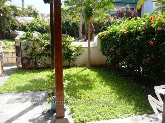 Appartement in La Paz  -  Appartement mit privatem Garten und großer Terrasse in einem der bedeutendsten Gebäude von Puerto de la Cruz.