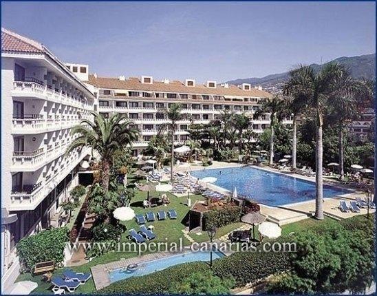 Studio in La Paz  -  In einem Hotel mit all seinen Service und Freizeitangeboten wohnen. Mit sch�nem Blick auf den Teide und Sonne den ganzen Tag