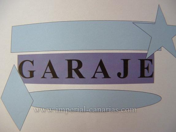 Garage in La Paz  -  Zu vermieten, Garagenstellplatz