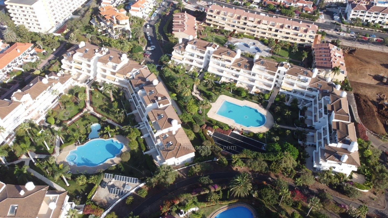Elegantes Appartment in attraktiver Anlage von La Paz, mit beheiztem Pool.