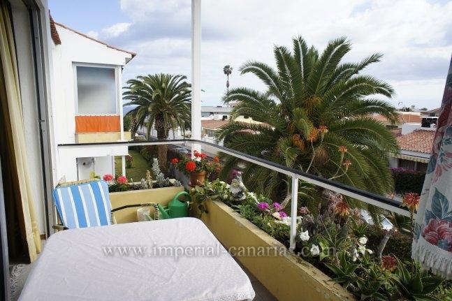 Appartement in Las Adelfas  -  Gemütliches Appartment, mit Balkon, in einer Wohngegend oberhalb des Loro Parque.