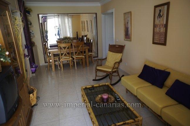 Wohnung in San Antonio  -  Schöne Drei-Zimmer-Wohnung, geschmackvoll eingerichtet.