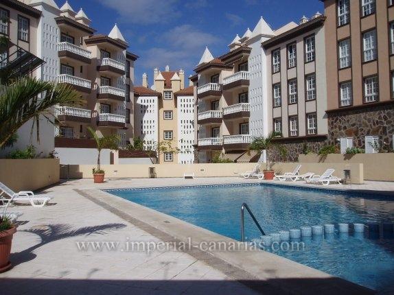 Appartement in San Antonio  -  Helles und gemütliches Apartment mit grosser Terrasse in kommunikativer Zone von Puerto de la Cruz.