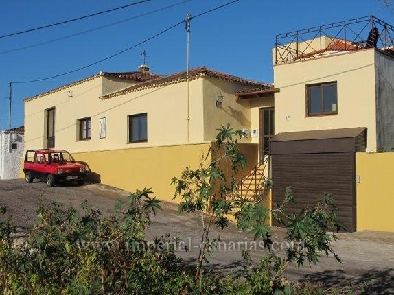 Kanarisches Haus in San Marcos  -  Dieses Haus ist ideal, wenn Sie in der N�he des Strandes und eines Fischerdorfes leben wollen.