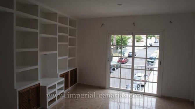 Wohnung in Los Potreros  -  Tolle 3 Zimmerwohnung im Zentrum von El Toscal mit einem traumhaften Meeresblick von der Dachterrasse au