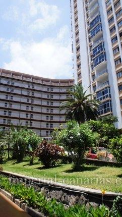 Appartement in Centro  -  Schönes Einzimmerapartment mit Gemeinschaftspool im Zentrum von Puerto de la Cruz.