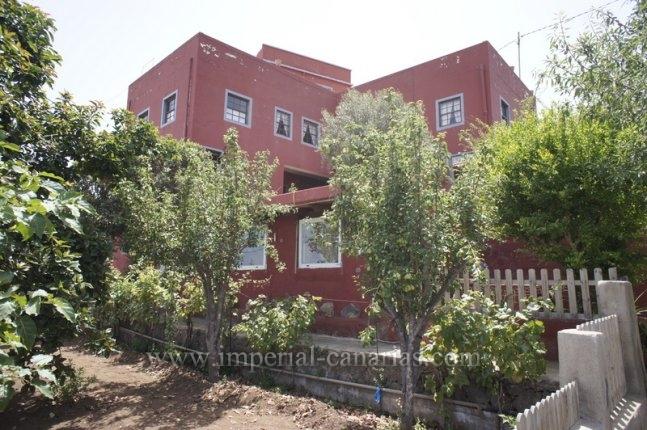 Kanarisches Haus in El Sauzal  -  Renoviertes kanarisches Landhaus mit tollem Rundumblick.