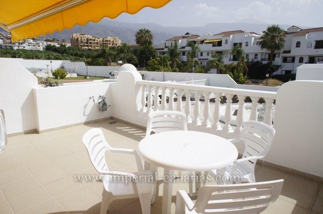 Appartement in La Paz  -  Hübsches und sonniges Appartemente in ruhiger Wohnanlage mit schönem Blick auf den Teide und auf den Pool