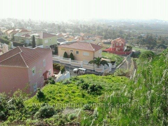 Grundstück in El Pinalito  -  Baugrundstück für Einfamilienhaus in ruhiger Wohngegend