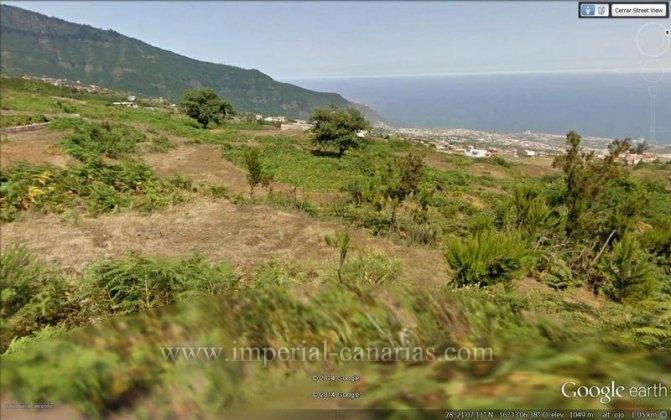 Gelände in Benijo  -  Rustikales Grundstück mit antikem und in ruinen befindlichem Haus
