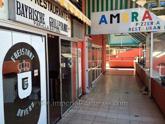 Geschäftslokal in El Drago, centro  -  Die Bayrische Grillpfanne wird hier Angeboten, es war einmal ein sehr bekanntes Deutsches Restaurant mit mehr als 20 Jahre Erfahrung.