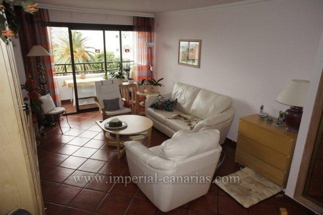 Appartement in La Paz  -  Bezaubernde und helle Wohnung in Hotelgebäude mit beheiztem Pool, schöner Gartenanlage und Tennisplatz