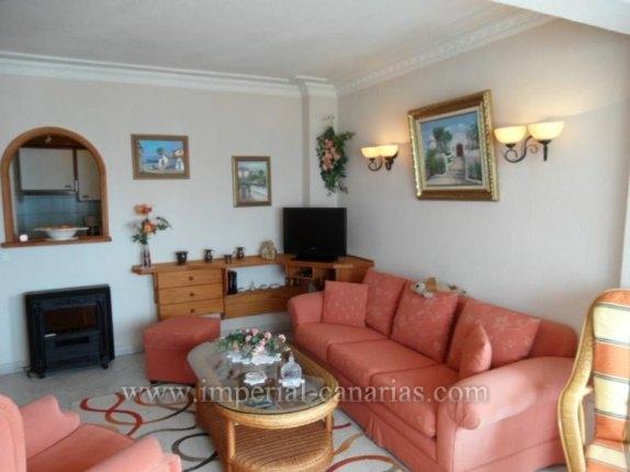 Appartement in El Tope  -  Apartment mit einem Schlafzimmer in ruhiger Wohnanlage mit beheiztem Pool in der Wohngegend von El Tope in Puerto de la Cruz.