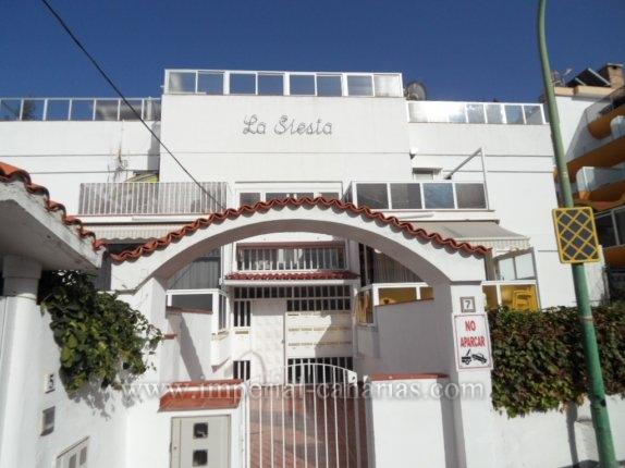Wohnung in San Fernando  -  Zwei-Zimmer-Wohnung mit großer Terrasse in San Fernando in der Nähe des Taoro Park.