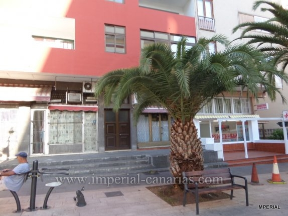 Buisness premises. Excellent location, in the centre of town on a main street near the Martianez beach. Divided into two floors, ground floor and basement. Perfect for offices, shop or restaurant.  click to enlarge the image