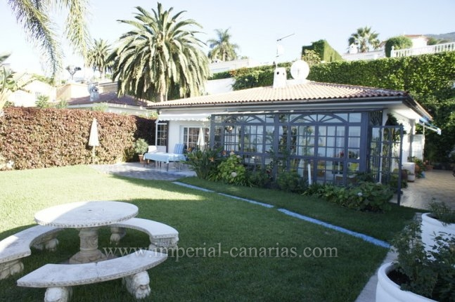 Einfamilienhaus in San Patricio  -  Tolles Einfamilienhaus mit schönem Garten und Meerblick!